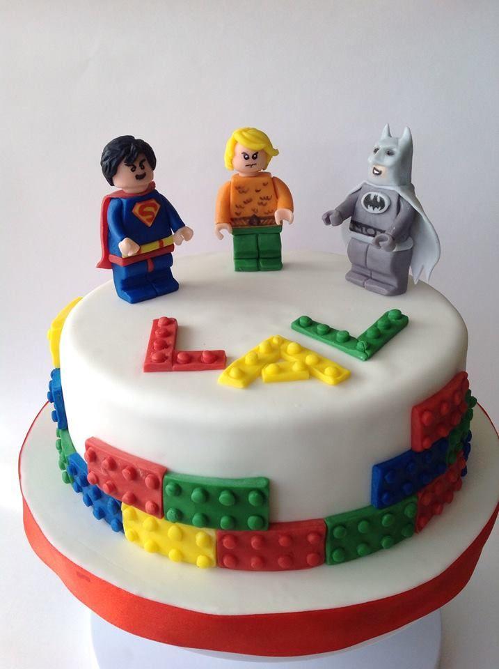 Lego Superheroes Cake My Best Cakes Pinterest