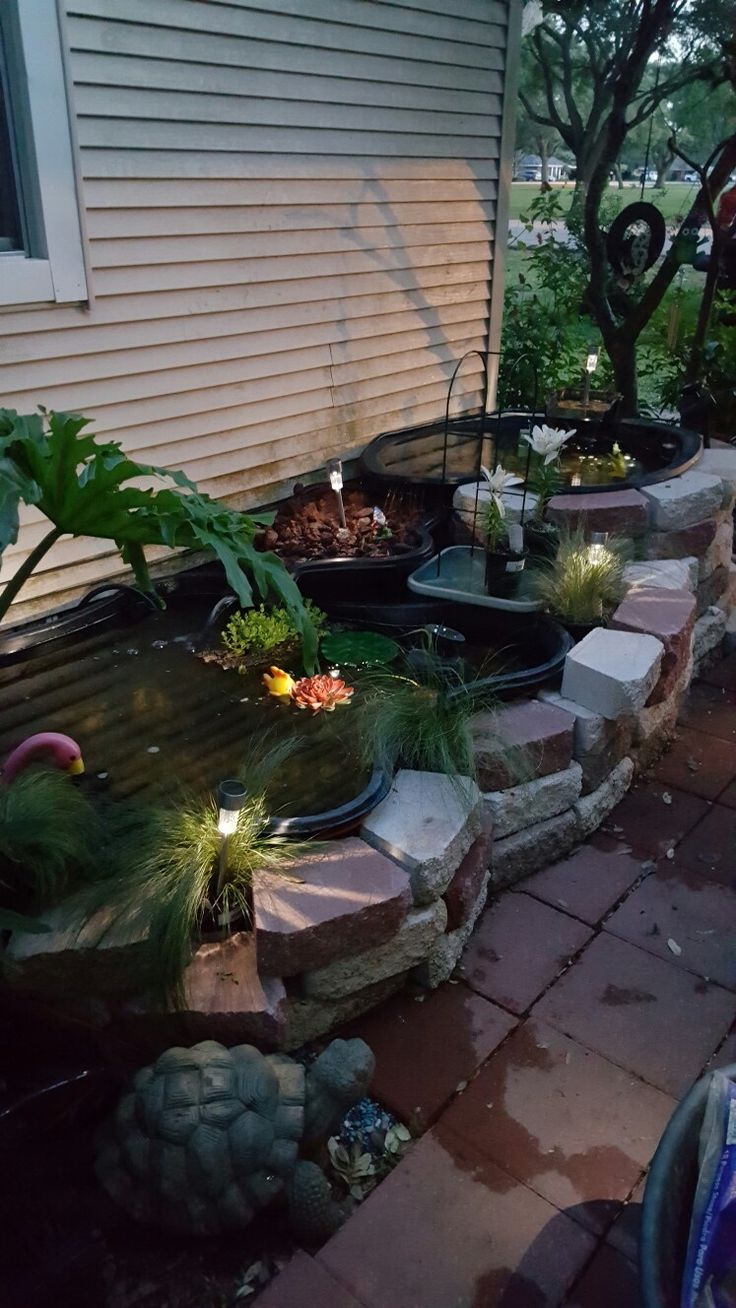 384 best images about Backyard Pond Designs on Pinterest on Backyard Koi Pond Designs  id=87545