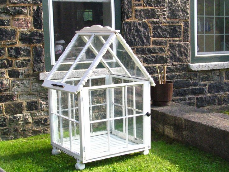 37 Best Greenhouses Made From Old Windows Images On Pinterest