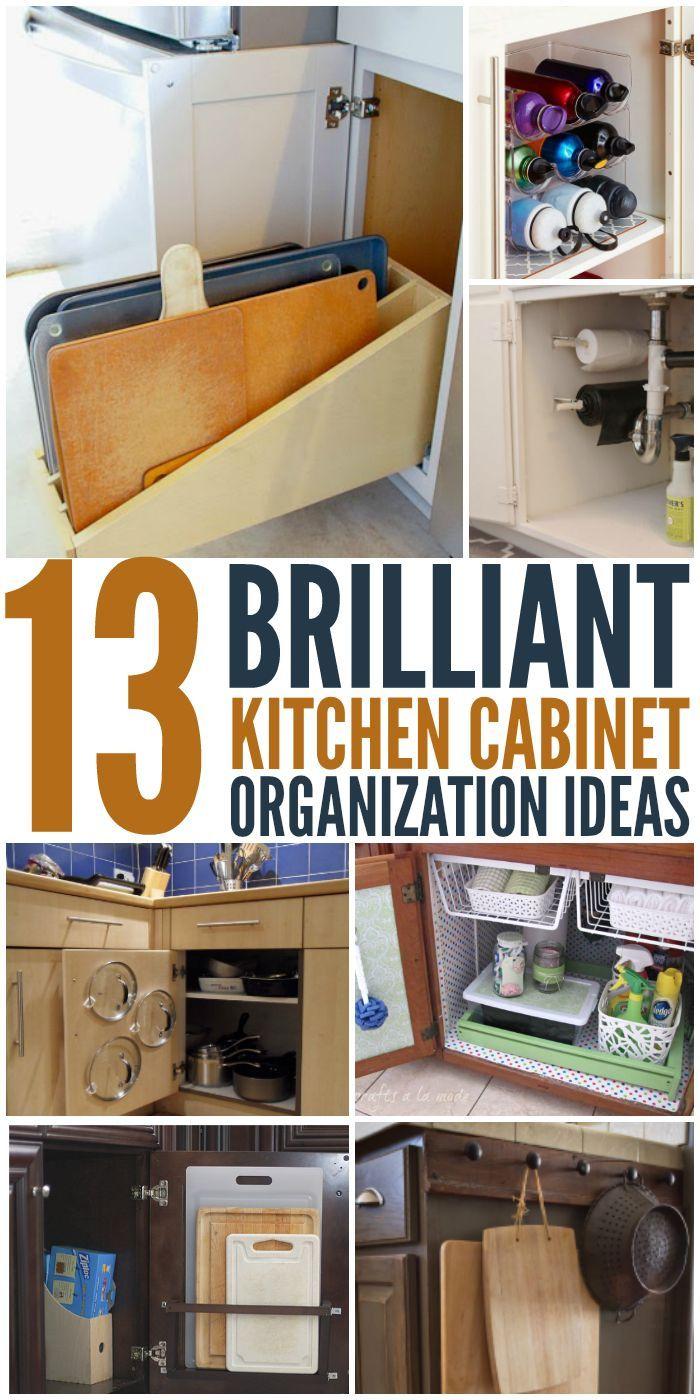 400 best images about organize on pinterest on kitchen organization diy id=55451