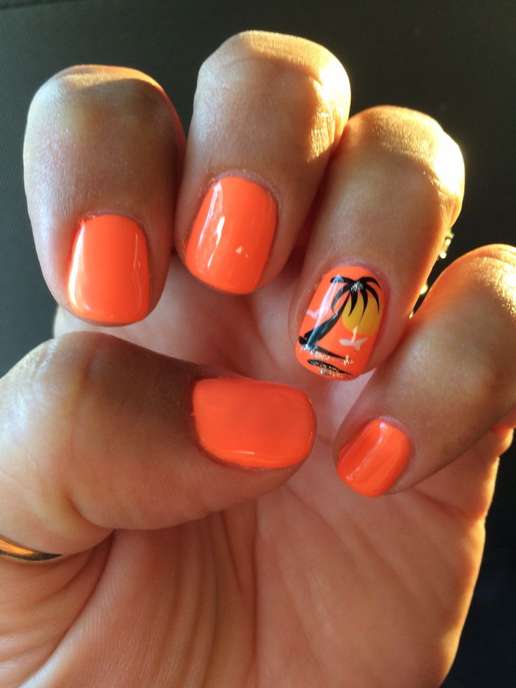 25 Best Ideas About Summer Gel Nails On Pinterest Nail
