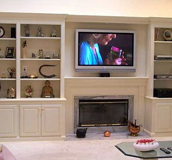 142 Best Images About Fireplace And Bookcase And TV Ideas