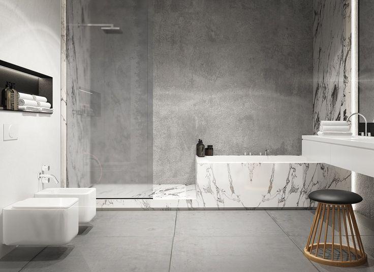 1000+ Ideas About Concrete Bathroom On Pinterest