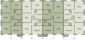 offices building plan  بحث Google‏ | floor plans