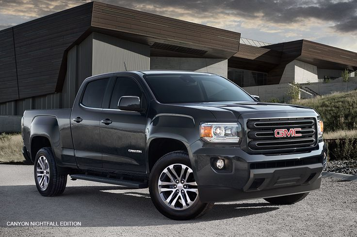 The 2016 GMC Canyon Nightfall Edition Mid Size Pickup