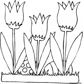Lily Flower Template Printable Pictures To Pin On