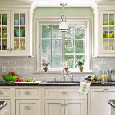 93 best images about house colonial revival on pinterest paint colors dutch colonial homes on kitchen cabinets around window id=82906