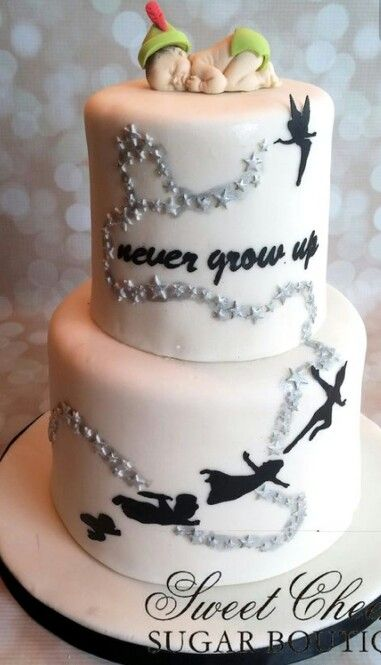 Best 20 Peter Pan Cakes Ideas On Pinterest Silhouette