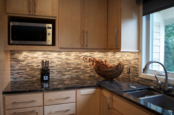 Beguiling Maple Cabinets With Black Granite Image Decor ... on Maple Kitchen Cabinets With Black Granite Countertops  id=65193