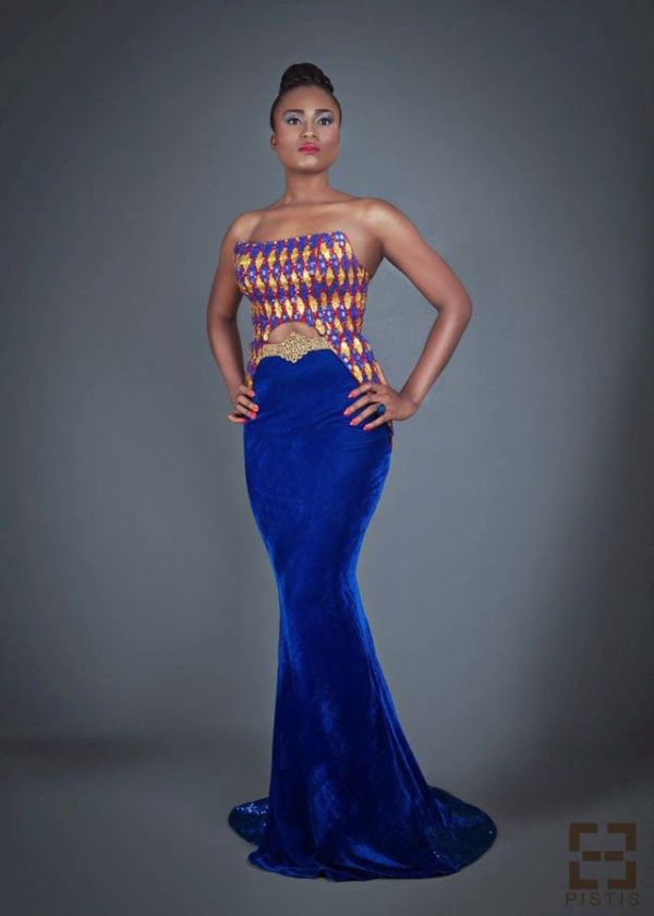 African print fashion dresses from Pistis- Ghanaian ...