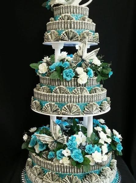 Wedding Money Cake Front View 9 445x600 Jpg 445 215 600