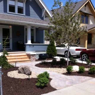22 best images about Grassless Front Yard Ideas on ... on Grassless Garden Ideas  id=13968