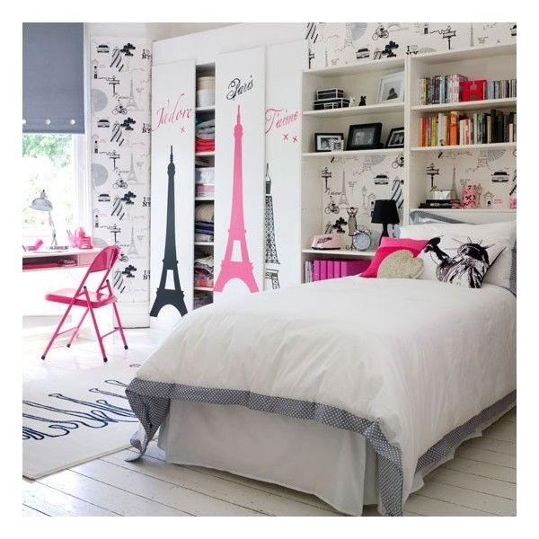 5 Cozy Teenage Bedroom Design Ideas for Girls liked on ... on Cozy Teenage Room Decor  id=17773