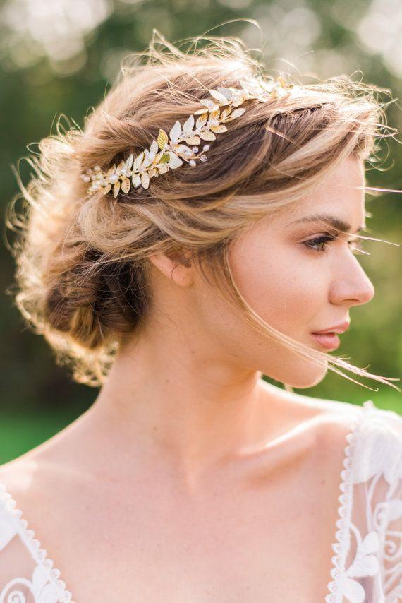 Best 25 Gold Leaf Headband Ideas On Pinterest Gold Hair
