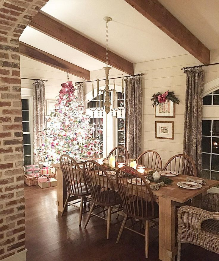 Beams Shiplap And Brick House Ideas Pinterest Pendant Lights White Walls And Accent Walls