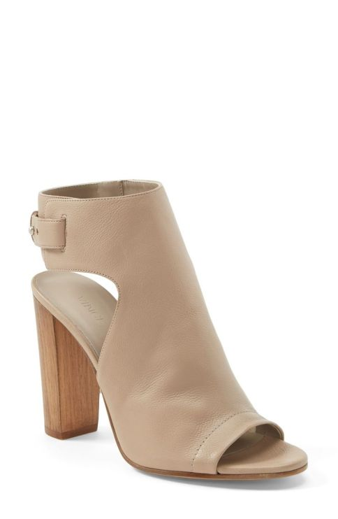 Can never go wrong with a classic nude sandal.