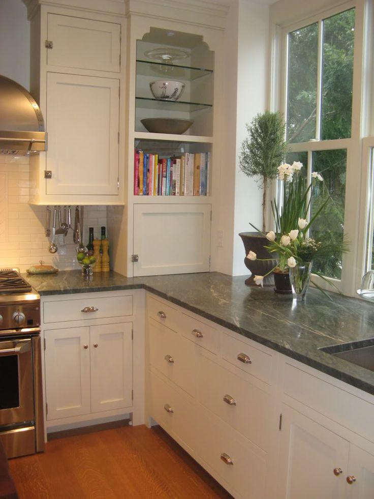 Honed Ocean Green Granite Kitchen Counter Pinterest