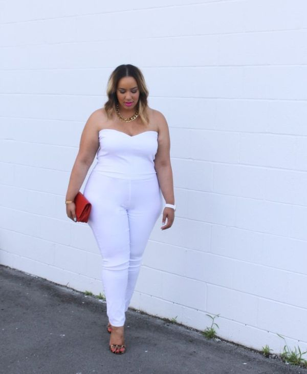 A Curvy Girl's Guide to Wearing All White - Rochelle ...