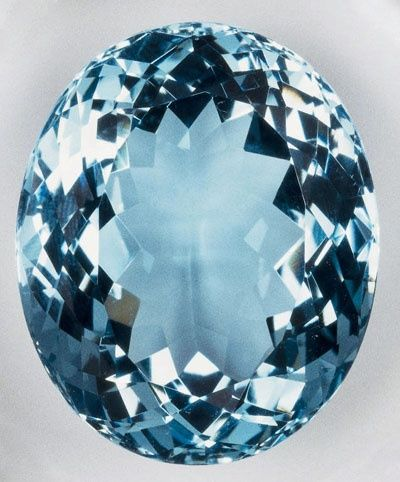Aquamarine Exists In Many Shades Of Blue From Pale
