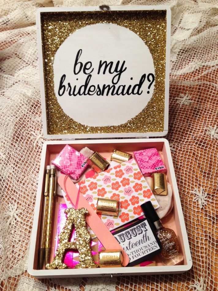 Creative & Delightful Ideas on How to Ask Your Girls to be Your