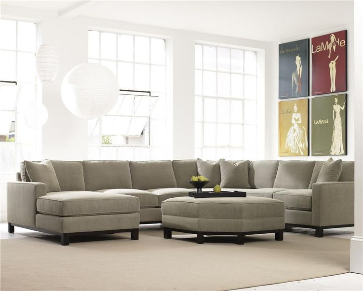 Marco Gray Chaise Sofa