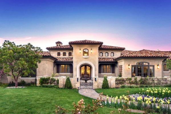 tuscany 1 story home images Houzz Home Design Houzz