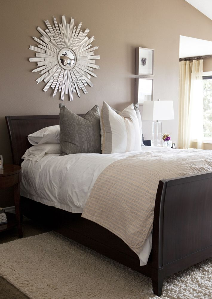 Master Bedroom | Bedrooms | Pinterest | Wall colors ... on Mirrors Next To Bed  id=38973