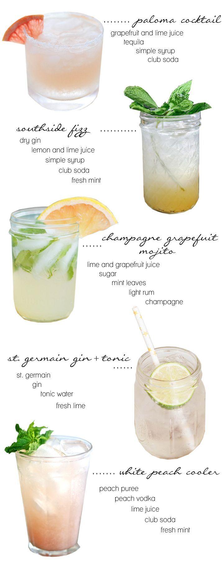 summer cocktails//