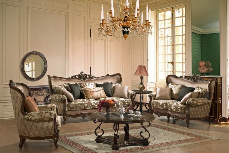 Micado French Style Living Room Set Living Room
