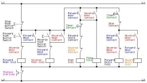 Electrical Schematic Diagram for the Control Circuit of a