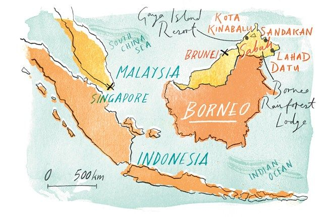 how to plan a trip to malaysia and borneo