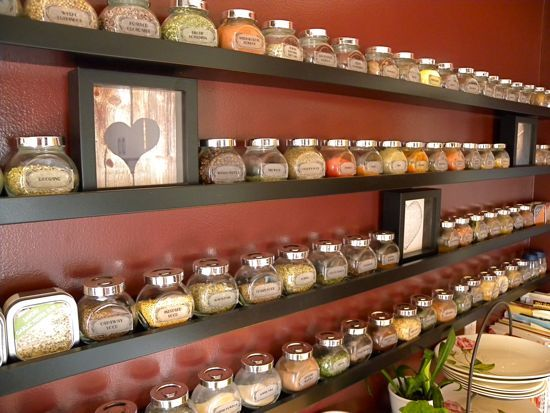 25+ Best Ideas About Kitchen Spice Storage On Pinterest