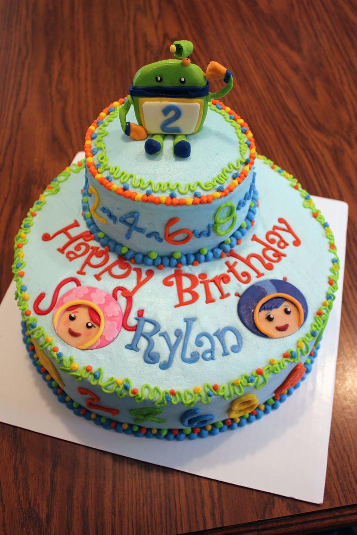 Team Umizoomi Birthday Cake Umizoomi Party Ideas