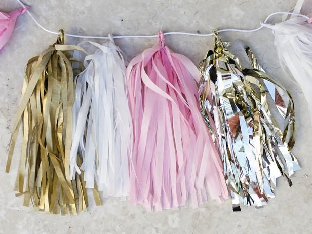 Make Tissue Paper Garland! Instructions --> http://www.hgtv.com/entertaining/make-your-own-tissue-paper-tassel-garland/index.html?soc=pinterest: Make Tissue Paper Garland! Instructions --> http://www.hgtv.com/entertaining/make-your-own-tissue-paper-tassel-garland/index.html?soc=pinterest