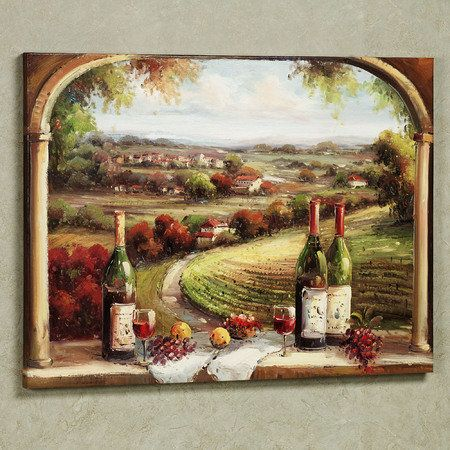 1000 images about vineyard paintings on pinterest poppy fields vineyard and canvas wall art on kitchen decor paintings prints id=32442