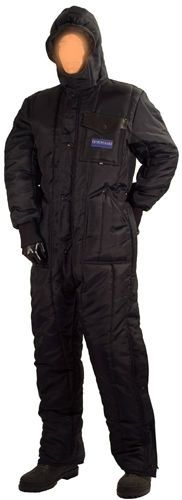 insulated coverall with hood freezer overalls for cold on insulated overalls id=14589