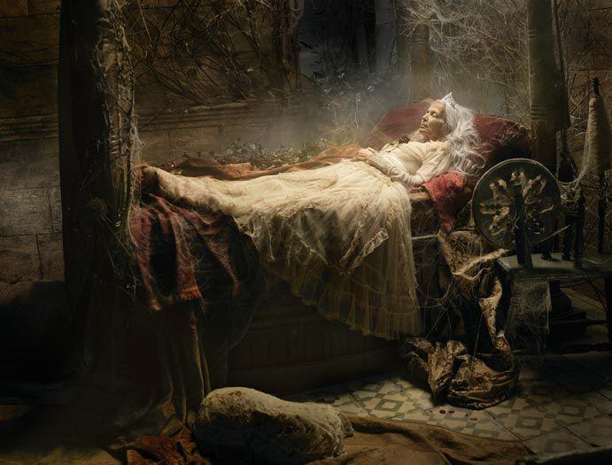 Sleeping beauty by Eugenio Recuenco