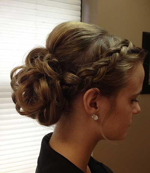 Best 20 Prom updo  hairstyles  ideas on Pinterest