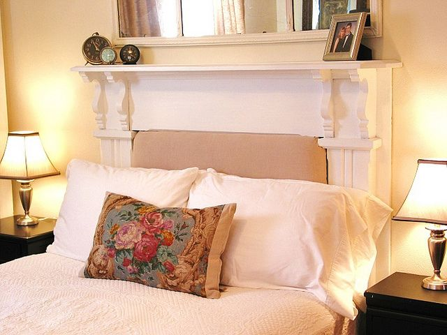 Best 25+ Fireplace Mantle Headboard Ideas On Pinterest