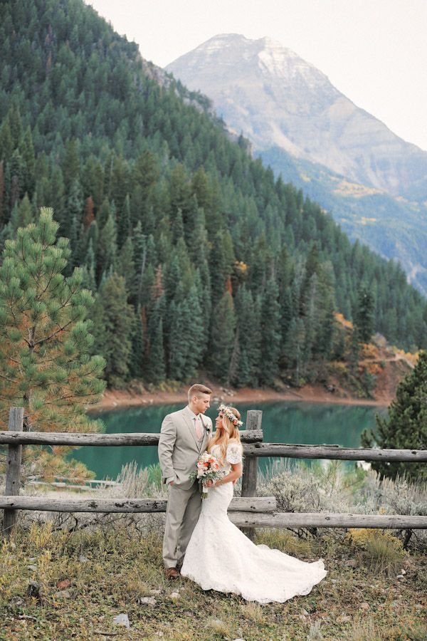 Tibble Fork Bridal Utah Wedding Photographer Alpine