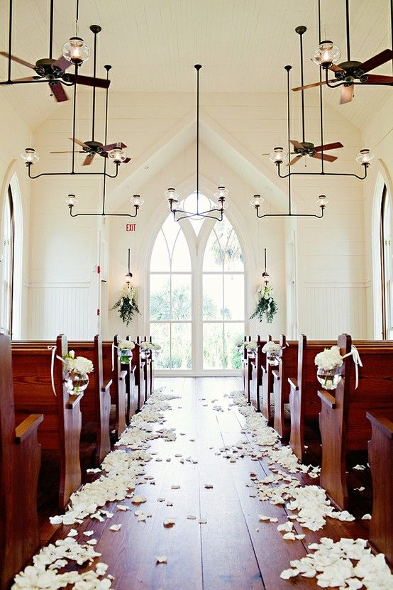 Southern weddings – church ceremony – Years from now, whoever you may be: this is where Id like to stand.