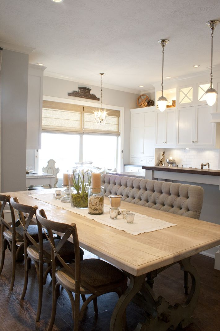 25 Best Ideas About Upholstered Dining Bench On Pinterest Dining Room Banquette Banquette