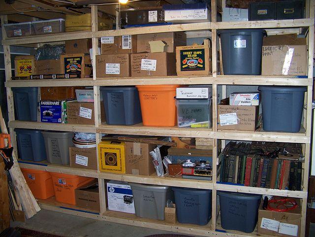17 Best Ideas About Basement Storage Shelves On Pinterest