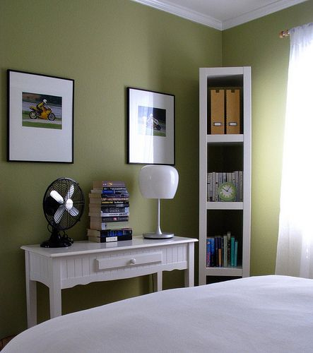 bedrooms behr ryegrass green walls paint color on green office paint color id=51269