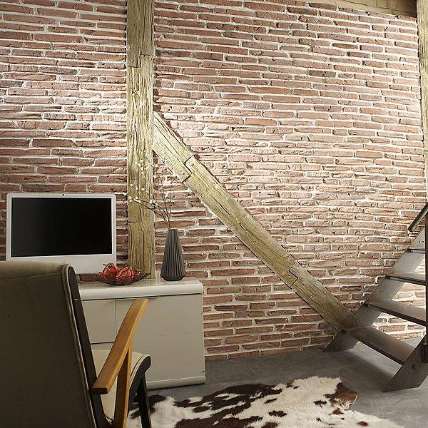 Plaquettes De Parement Toscane En Briques Reconstitues