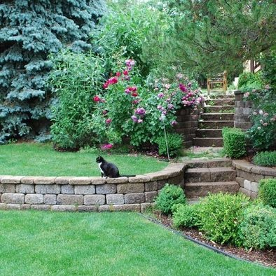 20 best images about Tiered gardens on Pinterest ... on Tiered Yard Ideas  id=42779