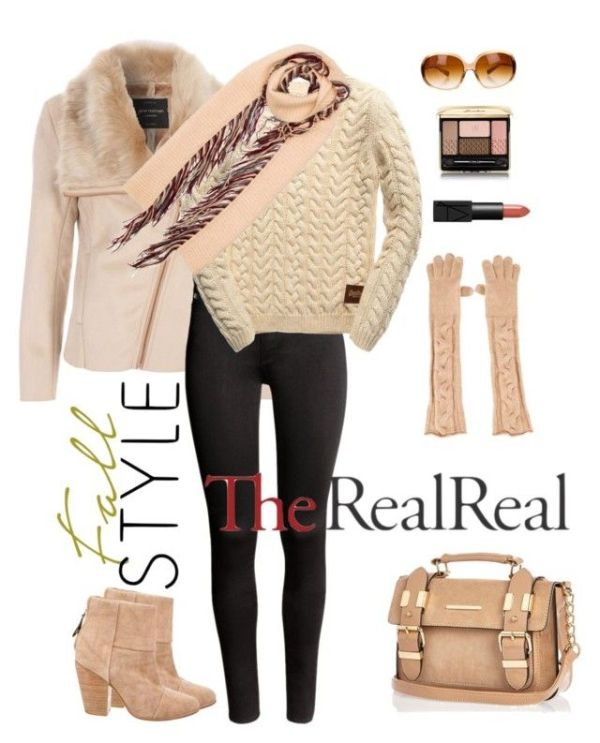 """""""236. Fall Style With The RealReal"""" by natlik liked on ..."""