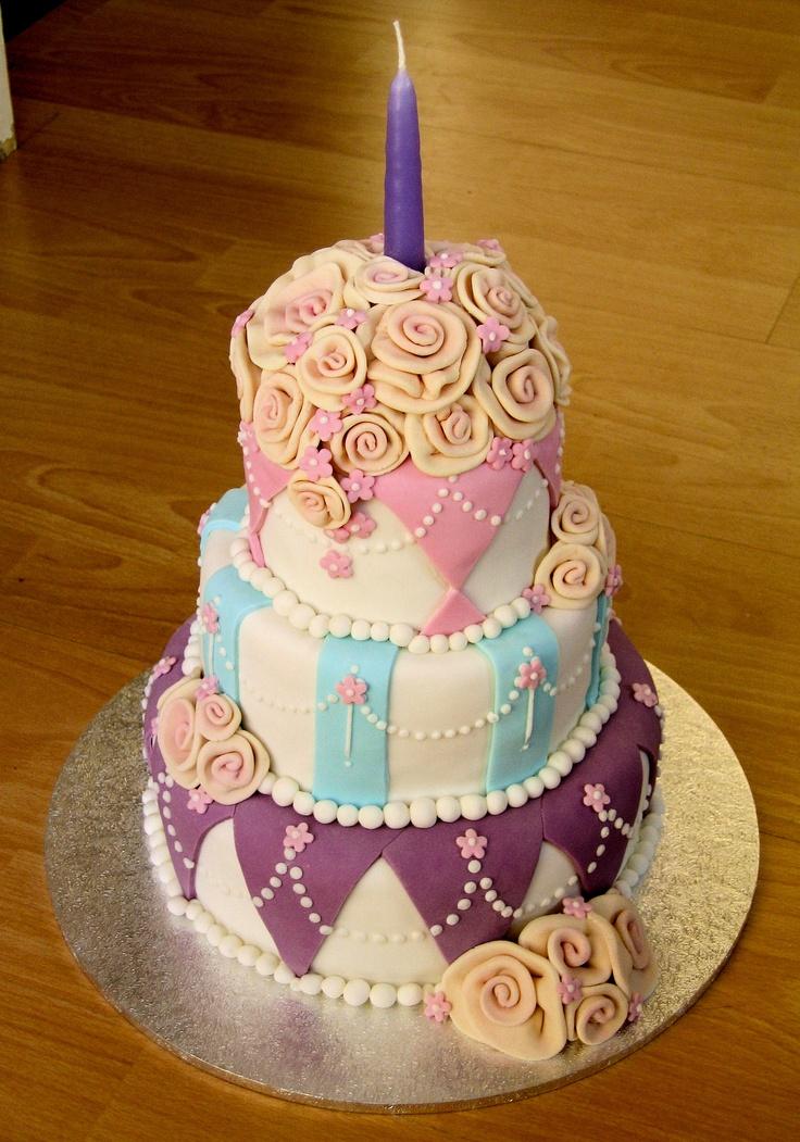 Mum S 50th Birthday Cake 2004 Birthday Cakes Pinterest