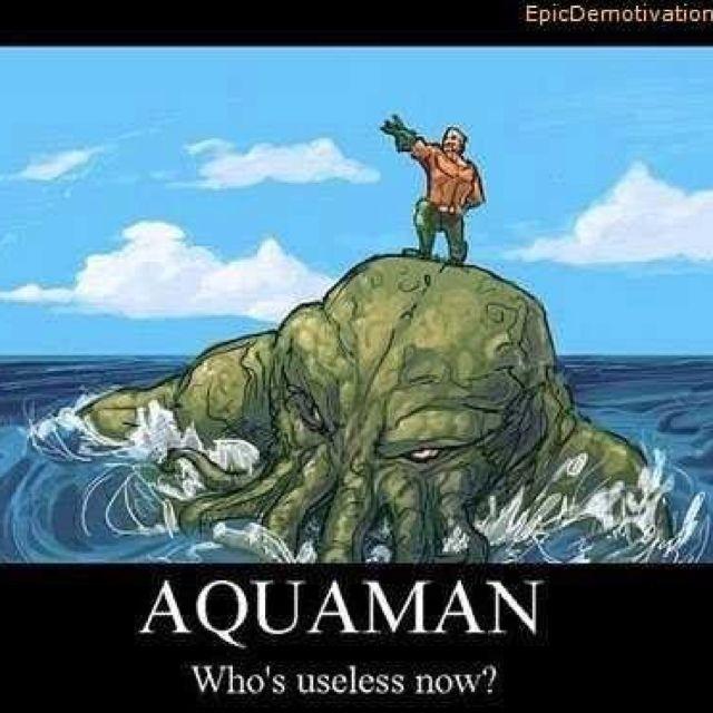 Aquaman Vs Cthulhu Comic Book Superheroes Pinterest