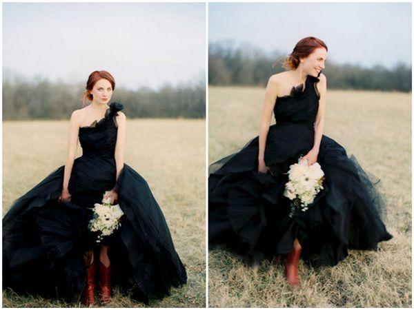 25+ Best Ideas About Black Wedding Dresses On Pinterest